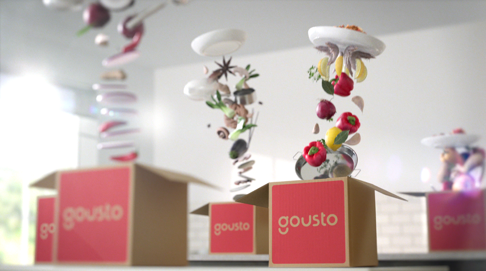Gousto aims to make recipe boxes 'the UK's favourite way to eat dinner'